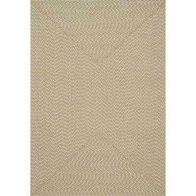 Bartolo Hand-Woven Beige Indoor/Outdoor Area Rug Rug Size: Rectangle 23 x 39