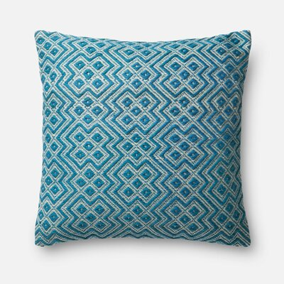 Indoor/Outdoor Pillow Cover Color: Turquoise