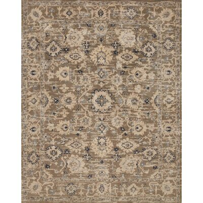 Durfee Brown/Beige Area Rug Rug Size: Rectangle 5 x 76