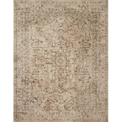 Josephine Beige Area Rug Rug Size: Rectangle 36 x 56