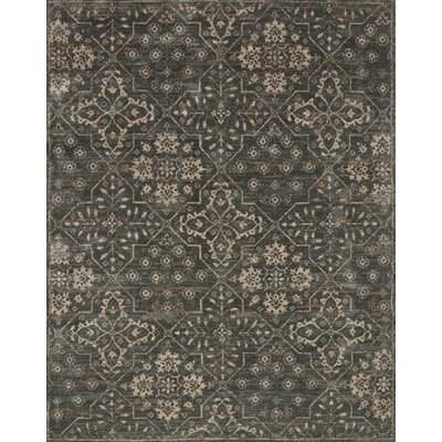 Durfee Gray Area Rug Rug Size: Rectangle 36 x 56