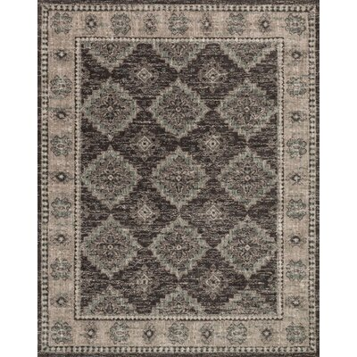 Durfee Beige/Gray Area Rug Rug Size: Rectangle 79 x 99