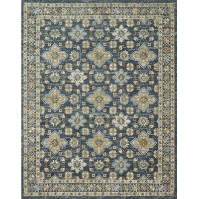 Durfee Blue Area Rug Rug Size: Rectangle 93 x 13