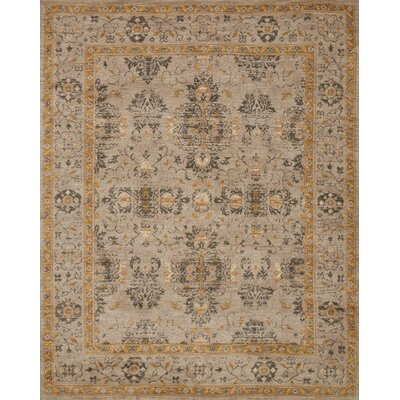 Josephine Brown Area Rug Rug Size: Rectangle 93 x 13