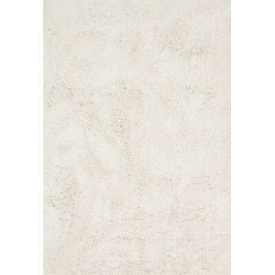 Kendall Shag Ivory Area Rug Rug Size: Rectangle 93 x 13