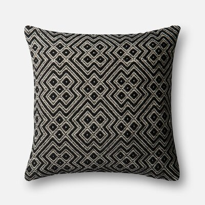 Indoor/Outdoor Pillow Cover Color: Black