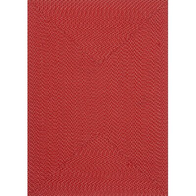 Daniell Hand-Woven Red Indoor/Outdoor Area Rug Rug Size: Rectangle 5 x 7