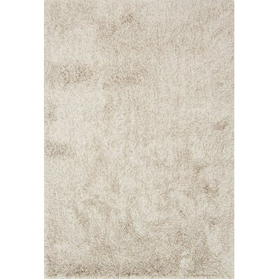 Kendall Shag Beige Area Rug Rug Size: Rectangle 23 x 39