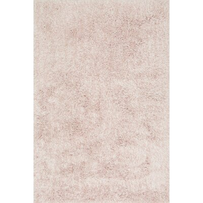 Kendall Shag Blush Area Rug Rug Size: Rectangle 23 x 39