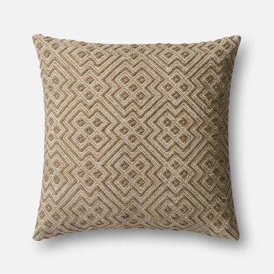 Norton Radstock Indoor/Outdoor Pillow Cover Color: Natural