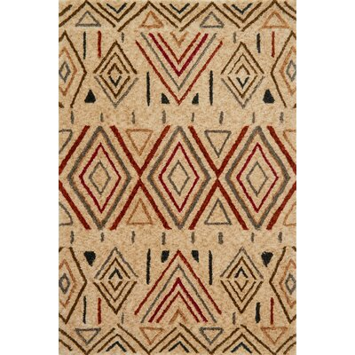 Kalliope Brown Area Rug Rug Size: 79 x 99