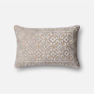 Lumbar Pillow Color: Brown / Beige