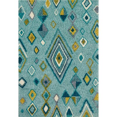 Zambrano Green Area Rug Rug Size: Rectangle 79 x 99