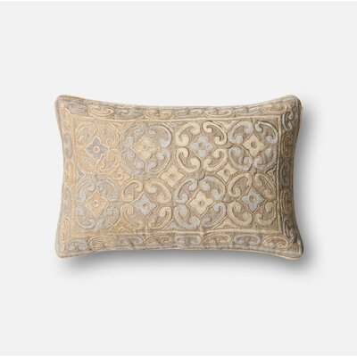 Lumbar Pillow Color: Brown / Yellow