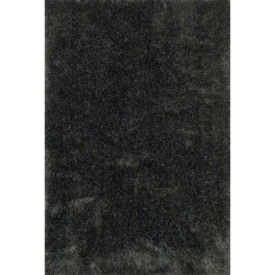 Fresco Charcoal Area Rug Rug Size: 36 x 56