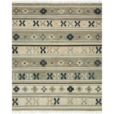 Owen Hand-Woven Beige Area Rug Rug Size: Rectangle 36 x 56
