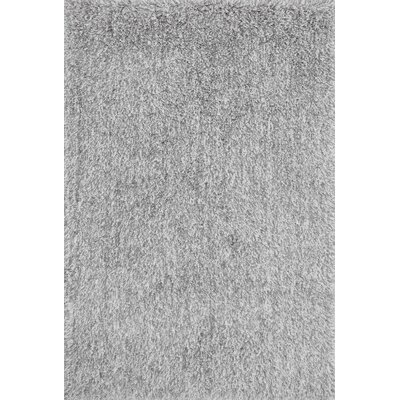 Kendall Shag Gray Area Rug Rug Size: Rectangle 36 x 56