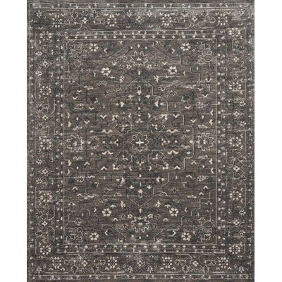 Durfee Pewter Area Rug Rug Size: Rectangle 36 x 56