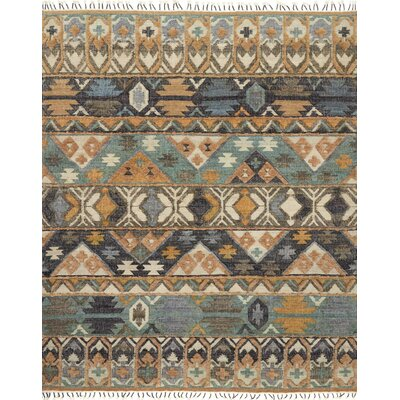 Owen Hand-Woven Brown/Gray Area Rug Rug Size: 79 x 99