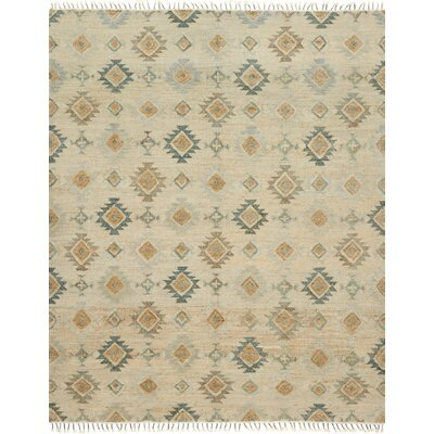 Owen Hand-Woven Beige Area Rug Rug Size: Rectangle 79 x 99