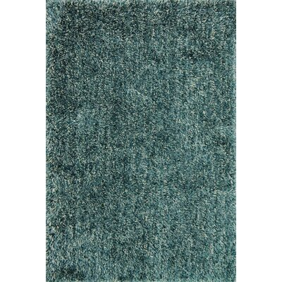 Kendall Shag Teal Area Rug Rug Size: Rectangle 5 x 76