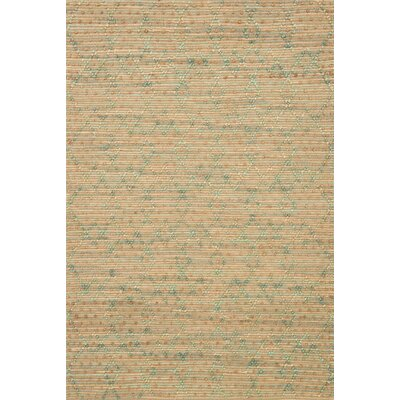 Beacon Hand-Woven Brown Area Rug Rug Size: 36 x 56