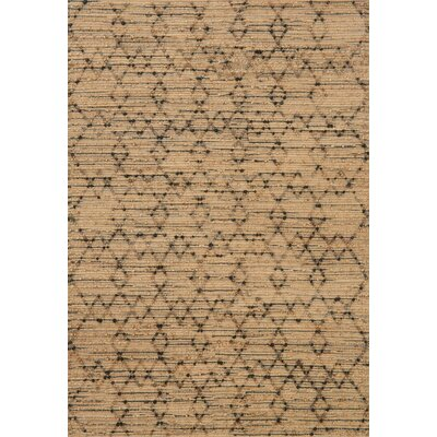 Beacon Hand-Woven Brown Area Rug Rug Size: Rectangle 23 x 39