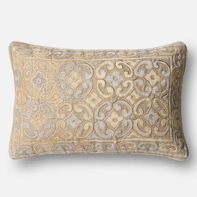 Linen/Cotton Pillow Cover Color: Beige