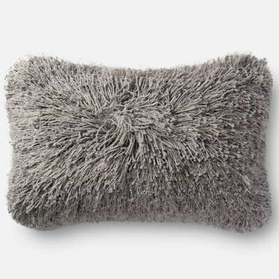 Hitchin Shag Pillow Cover Color: Gray