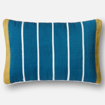 Indoor/Outdoor Pillow Cover Color: Blue/Green
