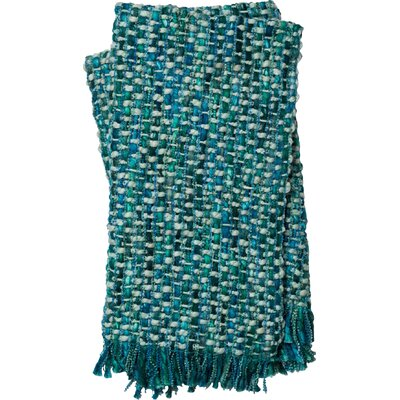 Rosa Throw Color: Blue / Green