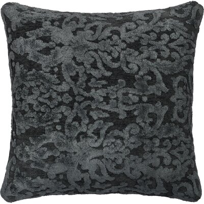 Throw Pillow Size: 18 H x 18 W x 6 D, Color: Metal