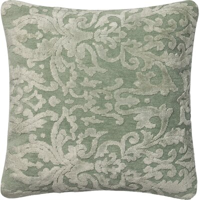 Nostrand Throw Pillow Size: 18 H x 18 W x 6 D, Color: Silver Sage