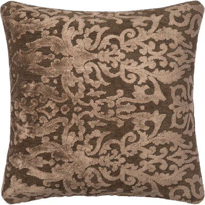 Throw Pillow Size: 18 H x 18 W x 6 D, Color: Coffee