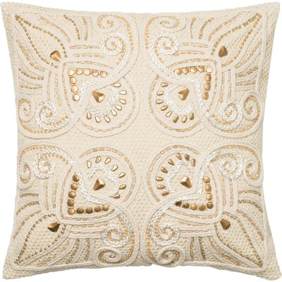 Cotton Throw Pillow Fill Material: Down Fill