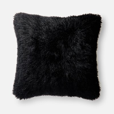 Leonce Throw Pillow Color: Black