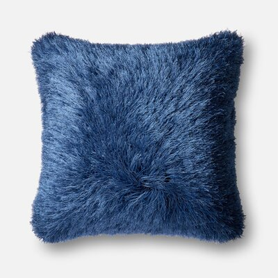 Ostrom Throw Pillow Color: Navy