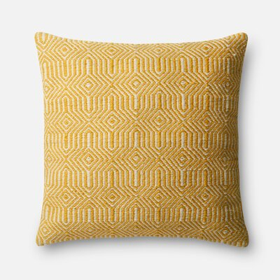 Orchard City Throw Pillow Cover Color: Yellow
