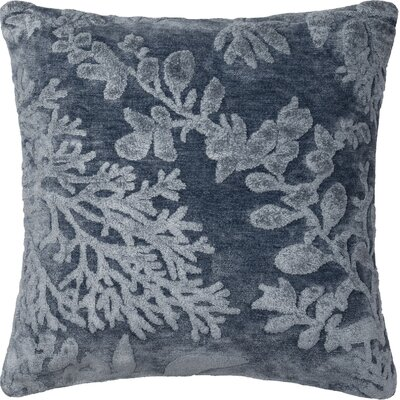 North Moore Throw Pillow Color: Denim