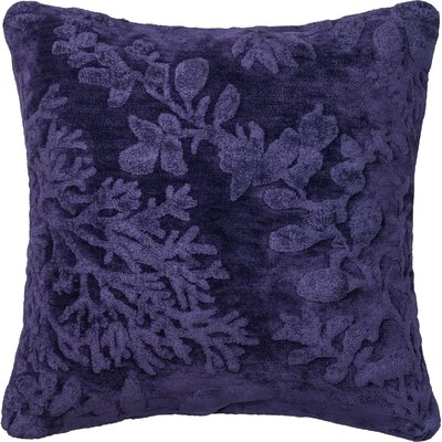 North Moore Throw Pillow Color: Blue/Berry