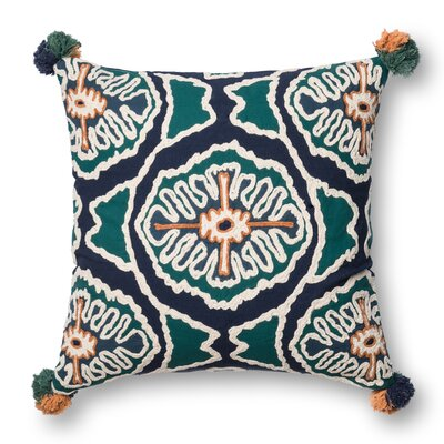 Benson Cotton Throw Pillow Cover