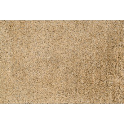 Boyd Hand-Woven Gold/Light Brown Area Rug Rug Size: Rectangle 5 x 76