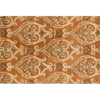 Fulton Hand-Tufted Orange Area Rug Rug Size: 710 x 11