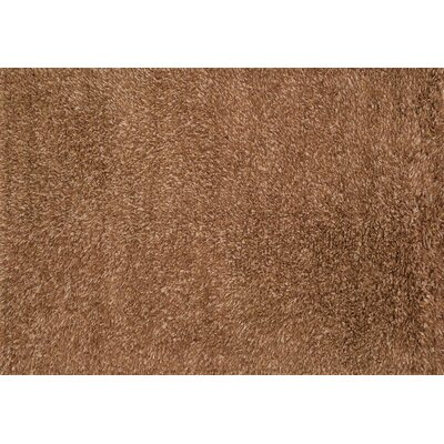 Turco Hand-Woven Rust Area Rug Rug Size: Square 7