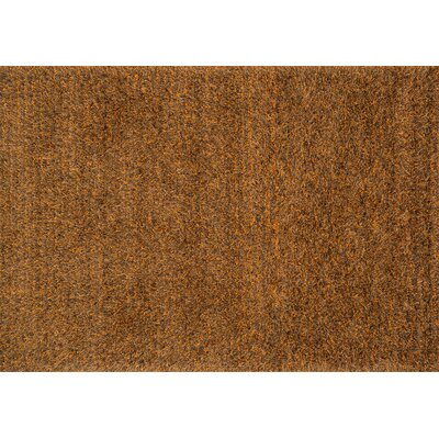 Shepperson Hand-Tufted Spice Area Rug Rug Size: Rectangle 76 x 96