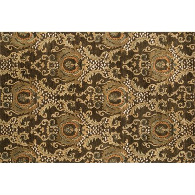 Yetter Hand-Tufted Dark Olive Area Rug Rug Size: Rectangle 5 x 76