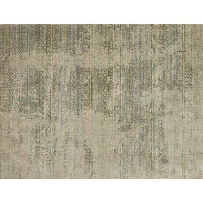 Javari Ivory/Sea Area Rug Rug Size: Rectangle 53 x 74