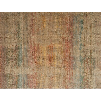 Zanders Smoke/Prism Area Rug Rug Size: Rectangle 12 x 15