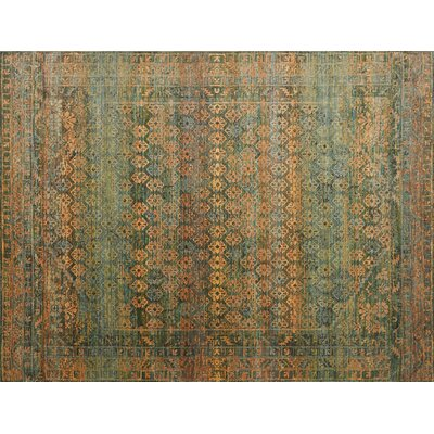 Zanders Lagoon/Fiesta Area Rug Rug Size: Rectangle 53 x 74
