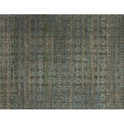 Javari Steel/Lagoon Area Rug Rug Size: Rectangle 53 x 74